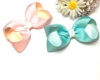 boutique bows, small bows, baby headbands, hair clips, bow headbands