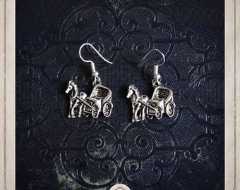 STAGECOACH BOA055 Silver earrings