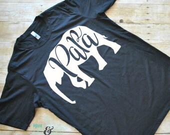 Men's Papa Elephant T-Shirt