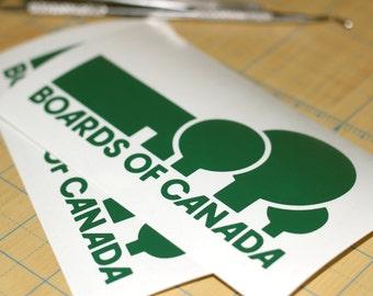 Boards Of Canada Vinyl Sticker