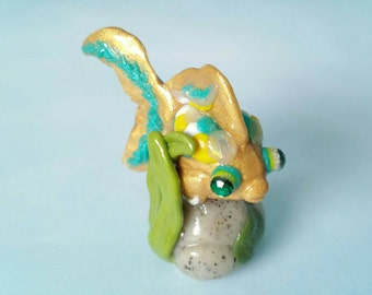 Emerald eyed Gold Fish