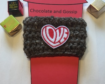 Love is in the Air, Heart Coffee Drink Cozy