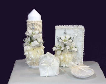 First Communion / Baptism Candle set