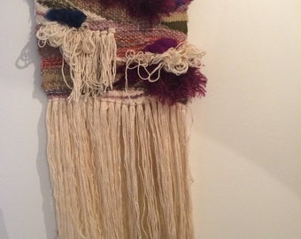 Woven wall hanging Bea