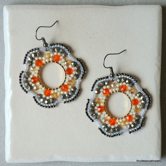circular brick stitch beading instructions