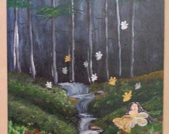 "fairy/forest/painting- ""Fairy Glen"""