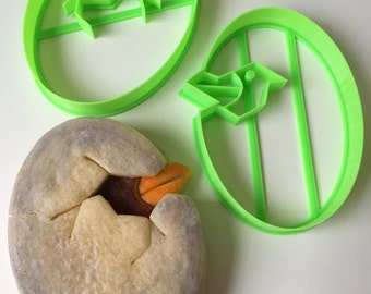 Egg and Hatchling Cookie Cutter Set