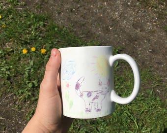 Child's Drawing Mug
