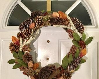 Masculine Wreath Etsy