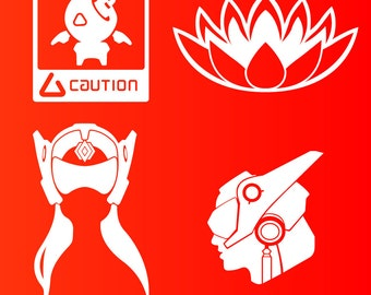 Overwatch Symmetra Decal Stickers (4 OPTIONS!)