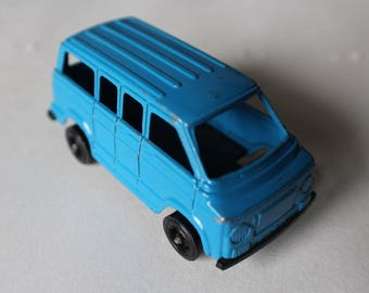1975 TootsieToy Dodge Van, blue, made in U.S.A., collectable toy cars, die cast, vintage model