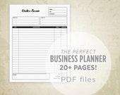 Business Planner Printabl...
