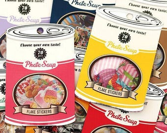 Stickers vintage set 70 pezzi/pieces available in 8 designs listed here