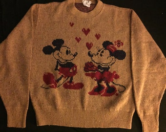 Mickey and Minnie Mouse Sweater