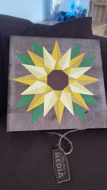 Sunflower Barn Quilt