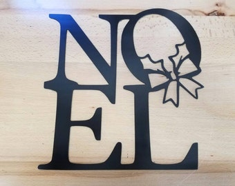 Noel metal wall art plasma cut decor Christmas