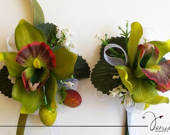 Wrist Corsage and Buttonhole