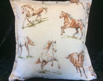 Cushion cover, Horse cushion,