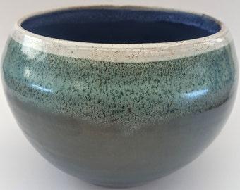 Hand thrown pot