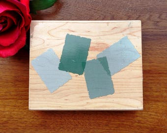 Hero Arts Background Template of 4 Rubber Stamp, S2191, Blocks, Background Stamp, Rectangle Background