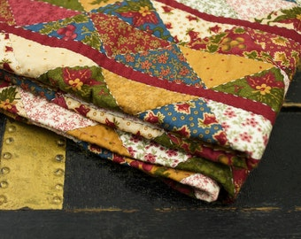 Rustic Hand-Stitched Quilt