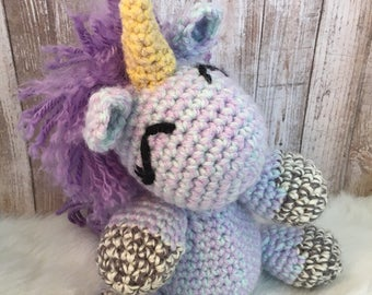 Amigurumi Unicorn, Crochet Toy Unicorn, Stuffed Unicorn, Unicorn Plushie, Unicorn Hunter, Unicorn Stuffed Animal, Unicorns, Plush Unicorn