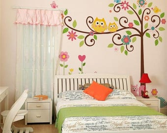 Wall Decals Nursery Etsy - Baby room wall decals