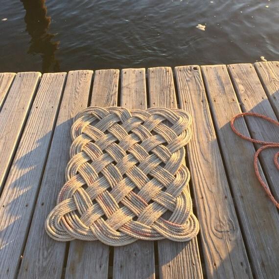 Recycled Lobster Rope Doormat Outdoor Mat Indoor