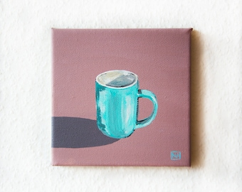 Espresso Cup Painting