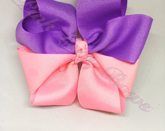 Extra big bow, bows for girls, large hair bow for toddlers, big hair bows, baby bow, boutique hair bow, extra large bows