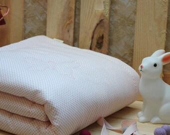 Plaid cotton baby