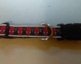Quick Release Dog Collar - Spiderman Themed
