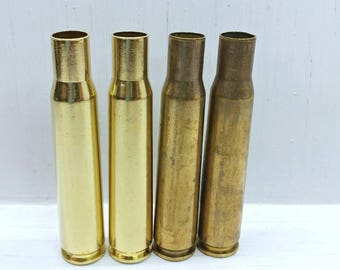 50Cal Brass Casing, 50 BMG, One Large 50Cal Bullet Casing, 50BMG Range Brass for Reloading, Once Fired 50 Caliber Shell, Clean or Raw Dirty
