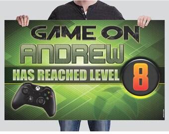 BANNER - Gamer Birthday Banner