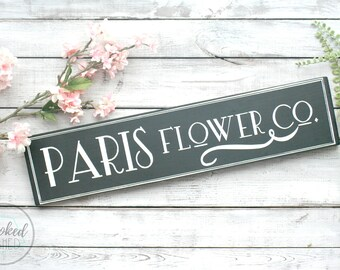 Fresh cut flowers Sign, rustic home Decor, flowers, Wedding Decor, Kitchen wall art, wedding signs, black and white wall art, wood sign