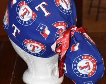 Texas Rangers Ponytail