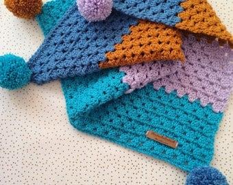 Baby blanket crochet blanket