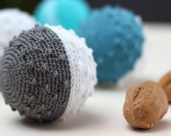 Baby montessori toys, sensory toy, sensory ball, sensory toys autism, crochet toy, montessori toys, eco crochet, organic toddler gift