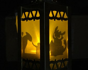 How to Train Your Dragon - Inspired Battery-Operated Plastic Mini Lantern