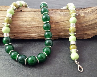 Necklace chain Green