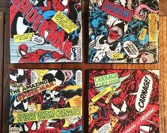 Spider-Man Drink Coasters