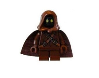 Custom Design Minifigure - Jawa (Star Wars) Printed On LEGO Parts