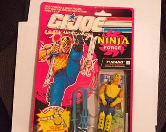 Gi Joe Ninja Force TJBANG   mint on card