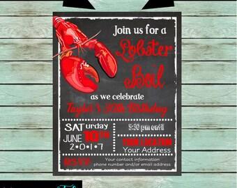 Lobster Bake Etsy