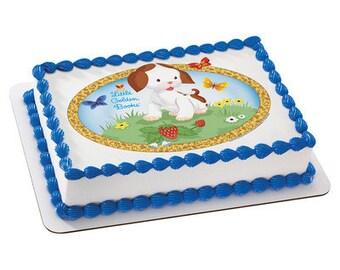 Little Golden Books® The Poky Little Puppy Edible Cake Topper