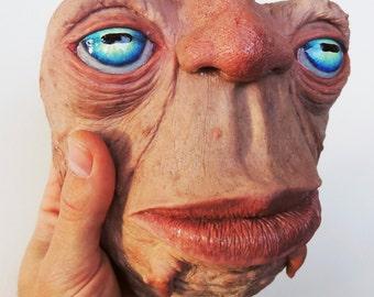 creature monster sci fi horror alien cute figurine sculpture fantasy special effects concept weird funny