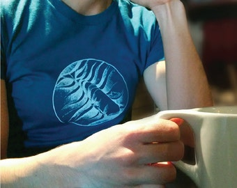 Women's Whale T-Shirt - Cachalot - (Balaena Collection)