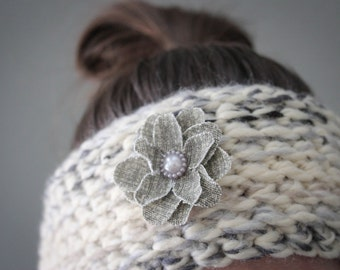 Knit Headband, Knitted Headband, Cable Knit Headband, Crochet Headband, Knitted Ear Warmer, Winter Accessory, Ear Warmer, Winter Headband