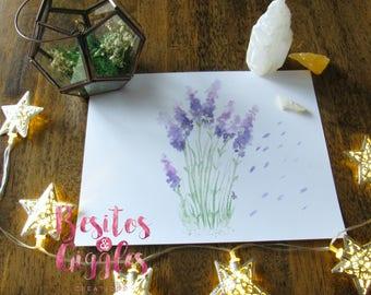 Digital Downloadable Lavender print