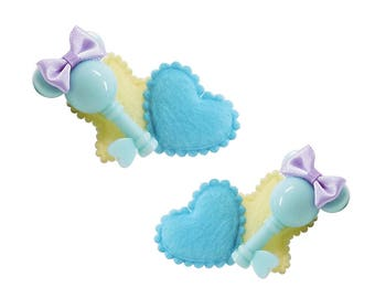 House of Mouse Key Hairclips [Set of 2]